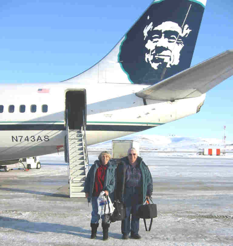 Nome Airport in March 2003